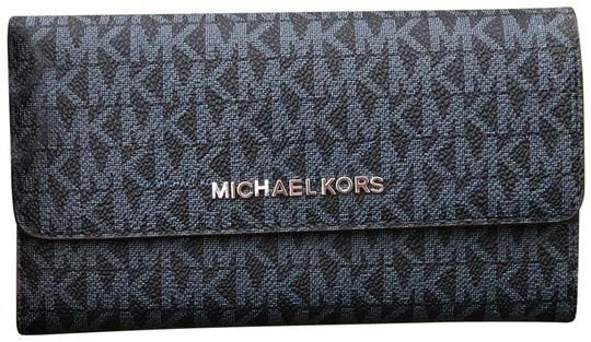 Preload https://img-static.tradesy.com/item/23999787/michael-kors-jet-set-travel-large-trifold-wallet-admiral-blue-signature-pvc-leather-cross-body-bag-0-1-540-540.jpg