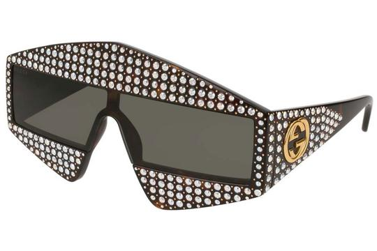 Preload https://img-static.tradesy.com/item/23999837/gucci-brown-new-0357s-crystal-hollywood-forever-oversized-sunglasses-0-0-540-540.jpg