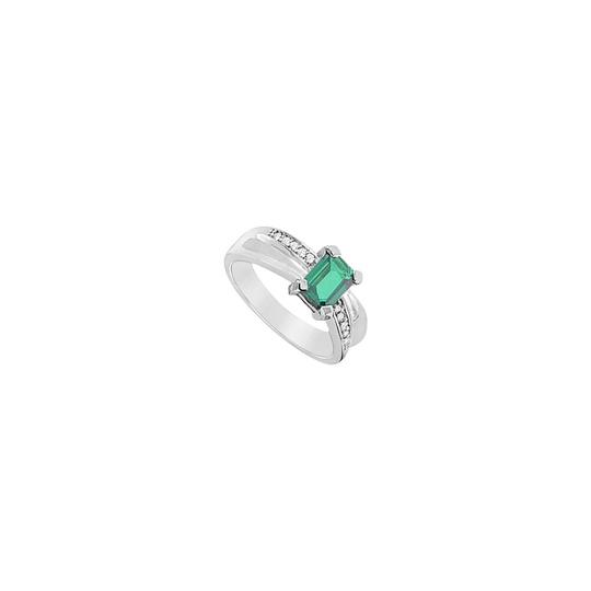 Preload https://img-static.tradesy.com/item/23999859/white-green-created-emerald-and-cubic-zirconia-925-sterling-silver-175-ct-ring-0-0-540-540.jpg