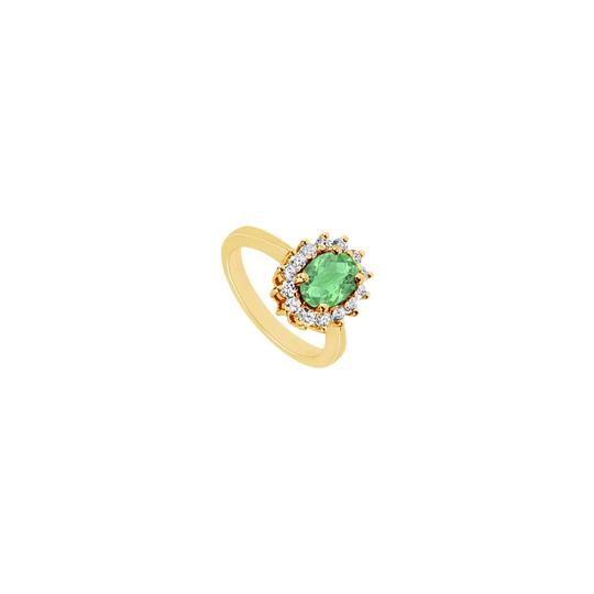 Preload https://img-static.tradesy.com/item/23999917/yellow-white-green-created-emerald-and-cubic-zirconia-gold-vermeil-150-ct-tg-ring-0-0-540-540.jpg
