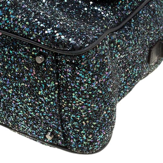 Anya Hindmarch Glitter Leather Shoulder Bag