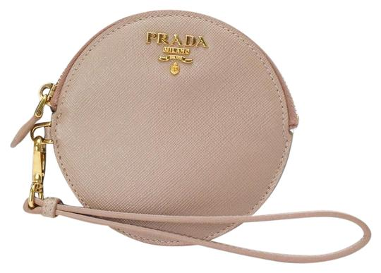 Prada Wallet Leather pink Clutch