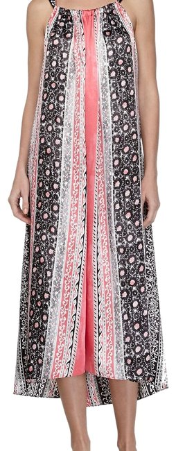 Preload https://img-static.tradesy.com/item/24000001/blackpinkmulticolor-tribal-balinese-silky-charmeuse-night-gown-long-casual-maxi-dress-size-6-s-0-1-650-650.jpg