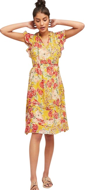 Preload https://img-static.tradesy.com/item/24000170/anthropologie-multicolor-ellory-by-dolan-left-coast-m-mid-length-cocktail-dress-size-10-m-0-1-650-650.jpg