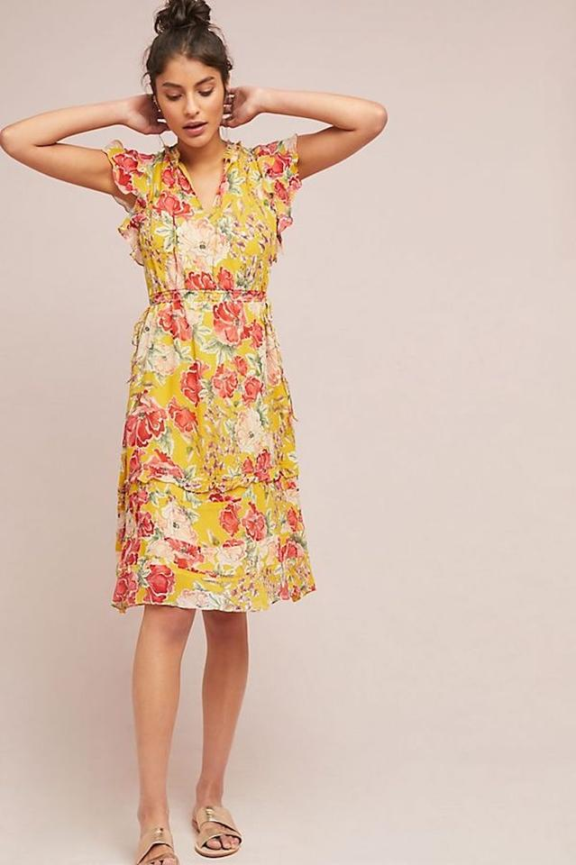 f5f8bd44708be Anthropologie Multicolor Ellory By Dolan Left Coast M Cocktail Dress
