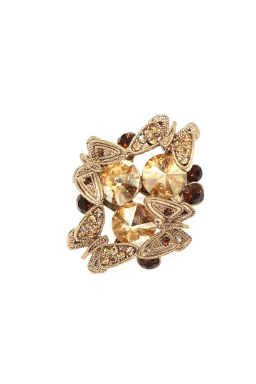 Preload https://img-static.tradesy.com/item/24000222/gold-crystal-butterfly-tricolor-ring-0-0-540-540.jpg