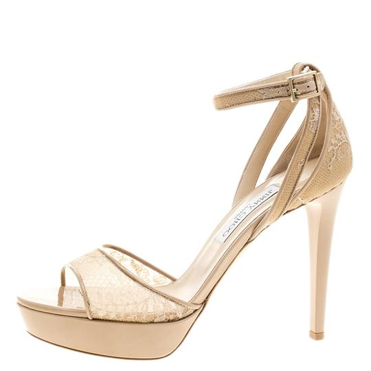 Preload https://img-static.tradesy.com/item/24000251/jimmy-choo-beige-lace-and-patent-leather-kayden-ankle-strap-platform-sandals-size-eu-40-approx-us-10-0-0-540-540.jpg