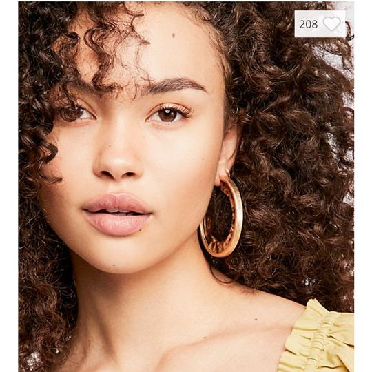 Free People free people hidden resin hoop earring
