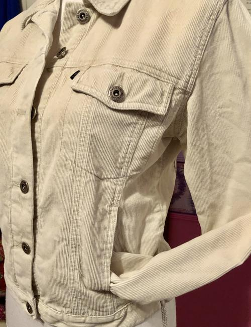 Aéropostale Corduroy Winter White Small Ivory -- please Look In Closet All Aero Huge See Inside-bundle Pricing Sale Inside Jacket