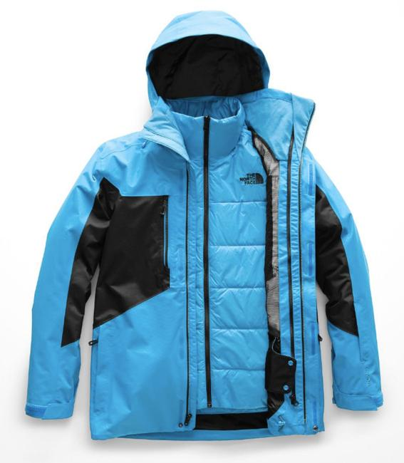 The North Face For He Size M Blue/Black HYPER BLUE/BLACK Jacket