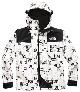 The North Face For He Size M WHITE BROKEN Jacket