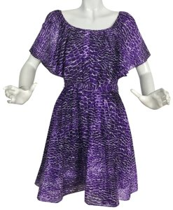 Cynthia Steffe short dress Purple on Tradesy