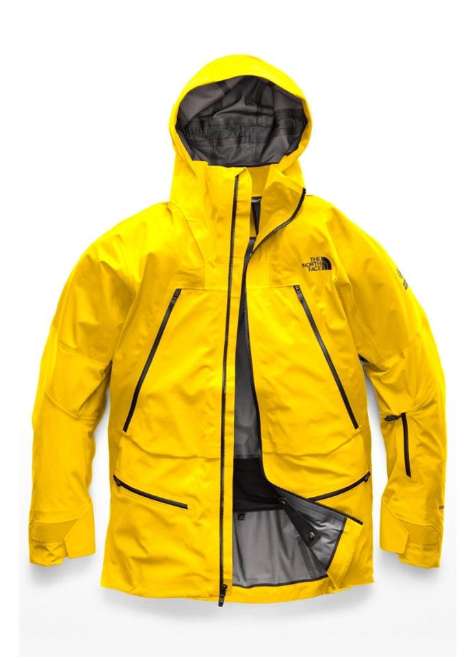 The North Face Canary Yellow Mens Steep Purist Jacket Size 8 (M ... d89d74db26b0