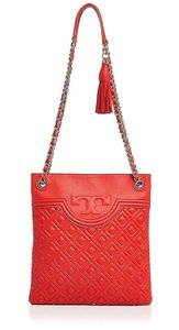 Tory Burch Leather Quilted Cross Body Bag