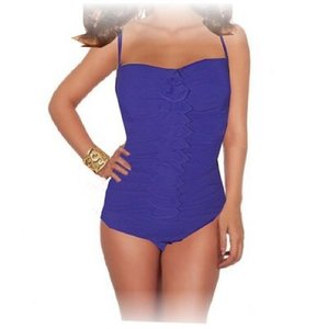 Profile by Gottex Profile by Gottex Rapture one piece dark purple swimsuit.