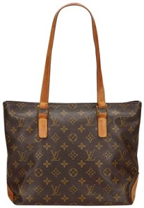 Louis Vuitton 8glvto054 Tote in Brown