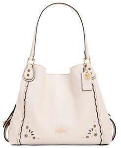 Coach Leather Edie 31 Studded Shoulder Bag