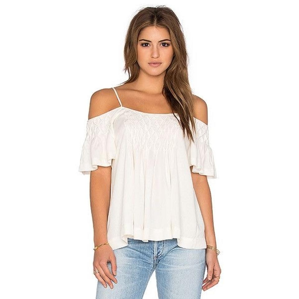 009abafaaab1ca Ella Moss Off-the-shoulder Blouse Size 4 (S) - Tradesy
