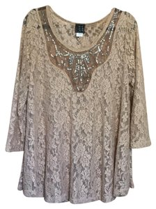 Daytrip Top brown lace