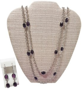 Savvy Cie Faceted Bezel Glass Stones