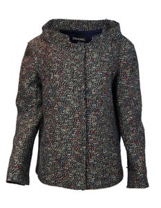 Chanel Tweed Jacket Runway Navy and Red Blazer