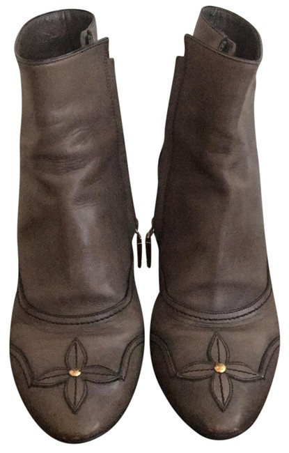 Item - Taupe Ankle Boots/Booties Size EU 38.5 (Approx. US 8.5) Regular (M, B)