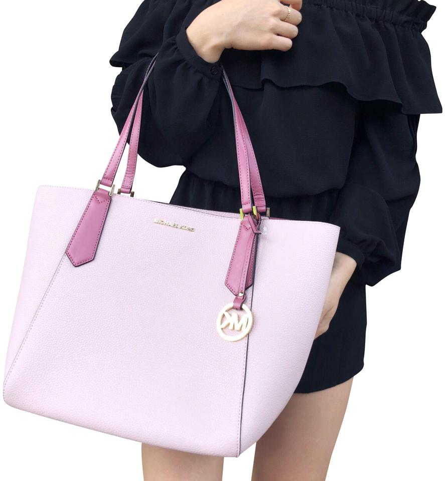 ddc0988229cc18 Michael Kors Kimberly New With Tag Tote in Blossom Pink Image 0 ...