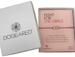 Dogeared Dogeared Breast Cancer Awareness Bracelet