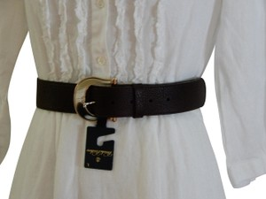 Brooks Brothers NEW BROOKS BROTHERS Brown Leather Belt $248