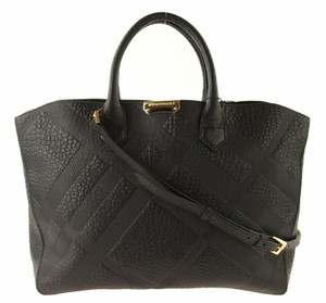 Burberry Medium Dewsbury Black Leather Tote - Tradesy 85007439d587d