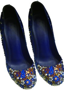 Saint Laurent multi stones Pumps