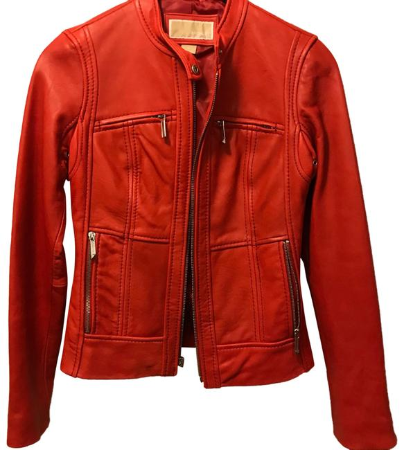 Item - Red Motto Jacket Size 0 (XS)