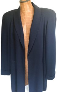 Pappagallo Vintage shawl collar swing coat
