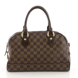 Louis Vuitton Boston Canvas Tote in brown