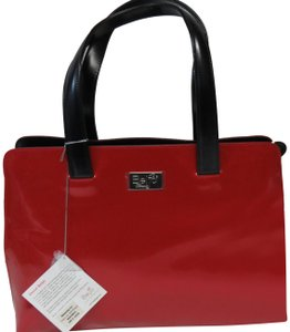 Beijo Tote in Lipstick Red