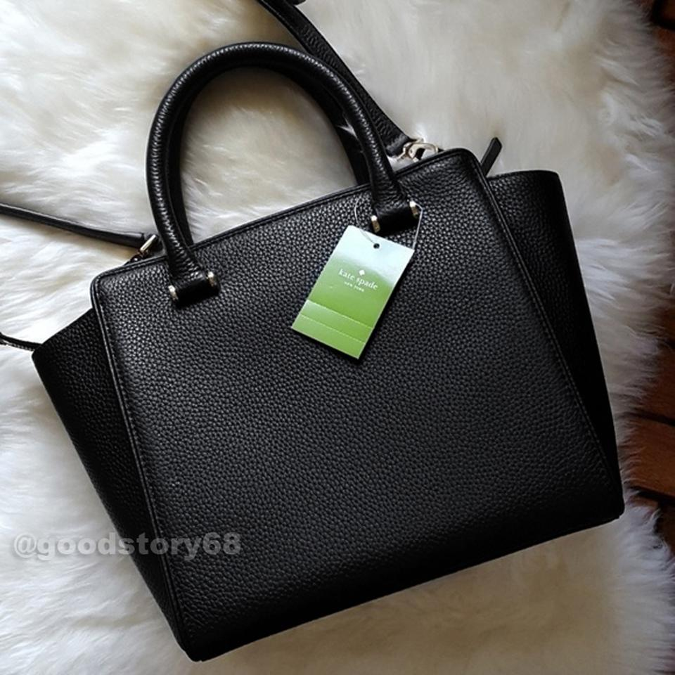 643e6d7846e5 Kate Spade Chester Street Small Allyn Crossbody Black Leather ...