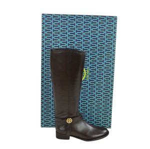 Tory Burch Tall Leather 5.5 Coconut Boots