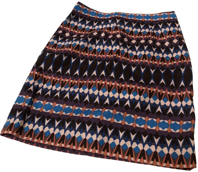 Item - Multicolor Patterned Skirt Size 0 (XS, 25)