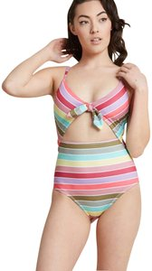 Modcloth High Dive Dip Swimsuit