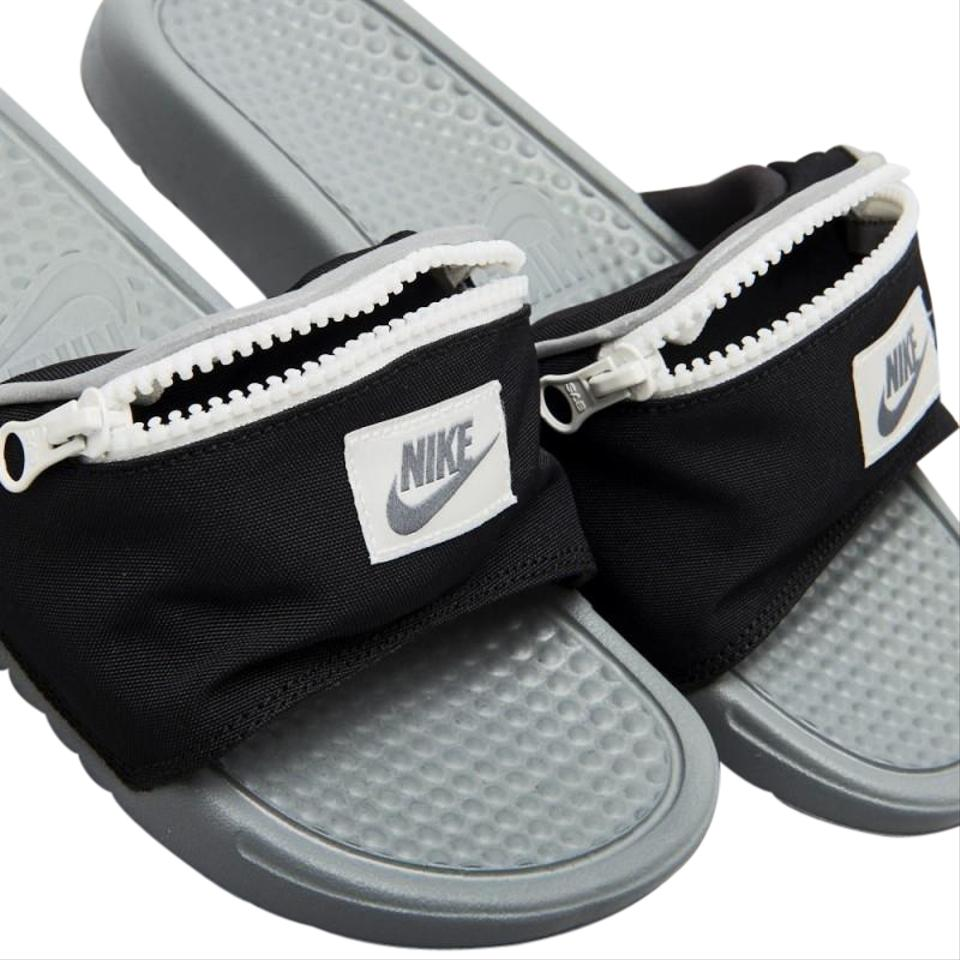 e7a52ffa3e1e Nike Black Benassi Jdi Fanny Pack Slide Sandals Size US 7 Regular (M ...