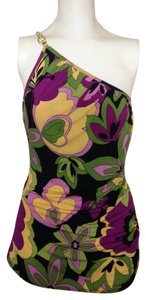 Bisou Bisou Top Retro Floral