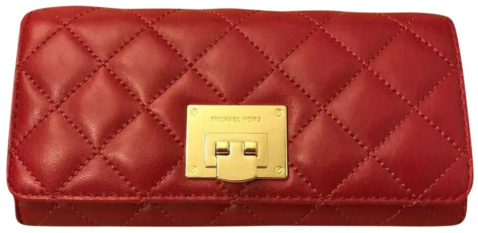 13ff9aafd21f Michael Kors MICHAEL KORS ASTRID QUILTED LEATHER CARRY ALL WALLET Image 0  ...