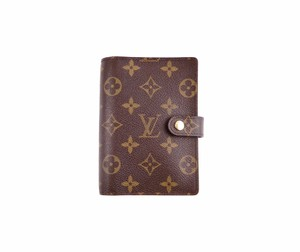 Louis Vuitton Agenda PM Monogram Canvas Leather Notebook Planner Cover