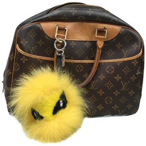 Fendi Fendi Monster Bag Bug Charm Yellow