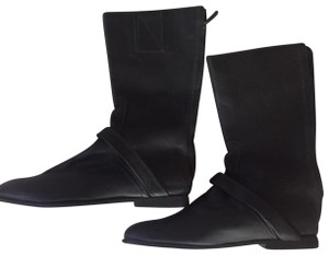 NewbarK Leather Classic Casual black Boots