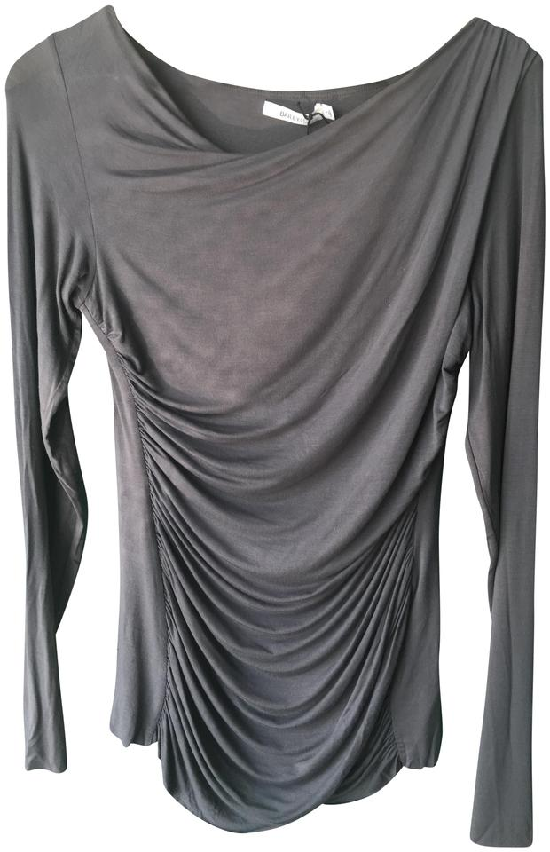 5cbb525ce8f31a Bailey 44 Grey Long Sleeve Tshirt Blouse Size 12 (L) - Tradesy