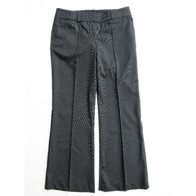 Item - Charcoal Pinstripe Front Creased Career Pants Size Petite 10 (M)