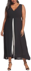 Adrianna Papell Plus-size Color-blocking Dress