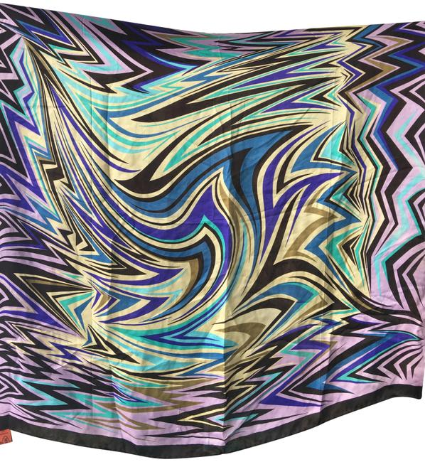 Missoni Multicolor New Without Tags Silk Scarf/Wrap Missoni Multicolor New Without Tags Silk Scarf/Wrap Image 1