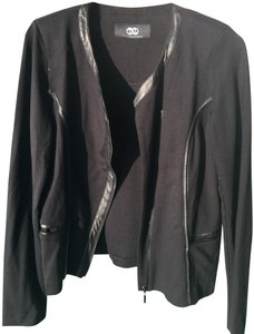 Tart Faux Lather Jersey Motorcycle Military Jacket